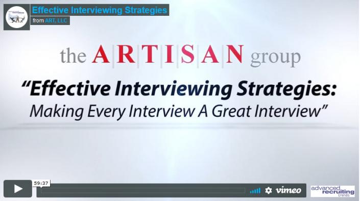Effective Interviewing Strategies